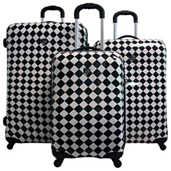 Heys Xcase Exotic Spinner Set, Checkers, One Size