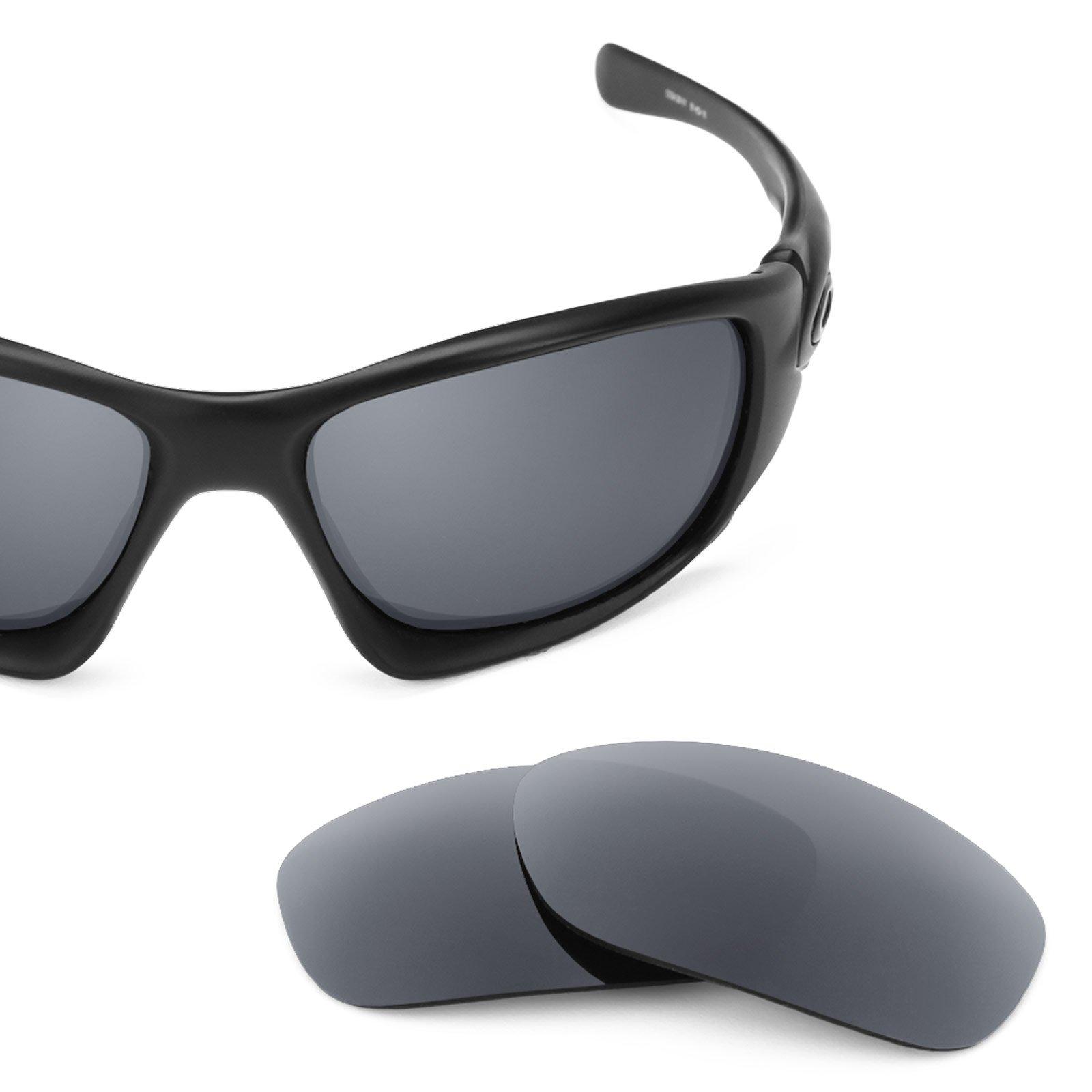 Revant Polarized Replacement Lenses for Oakley Ten Smoke Grey