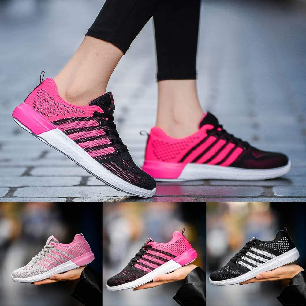JiaMeng Zapatos de Moda Zapatos Deportivos Casuales Zapatos para Correr Ligeros Zapatillas de Deporte con Cojines de Aire Calzado: Amazon.es: Ropa y ...