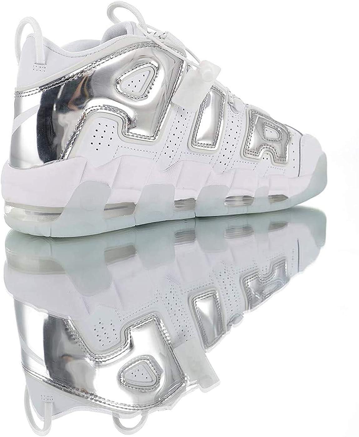 Uomini Pi/ù Traspirante Uptempo 96 Antiscivolo Resistente allusura Allenamento Atletico Confortevole Sneakers Air Cushion Moda Scarpe Da Basket