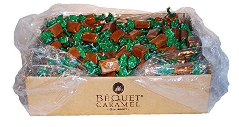 Bequet Gourmet Celtic Sea Salt Caramel 5lb bag (Celtic Sea Salt, 5lb bag) by Bequet