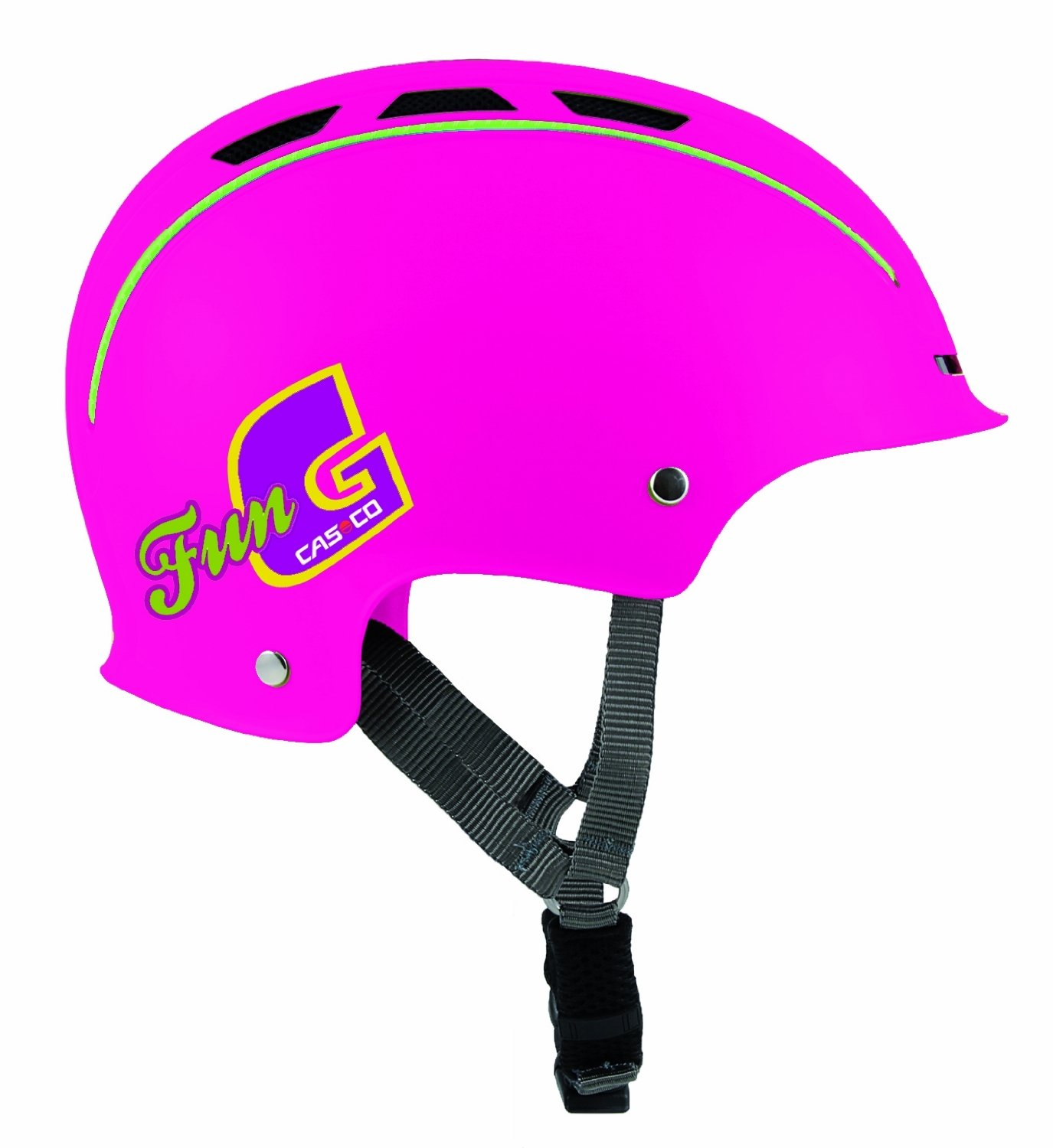 CASCO Kinder Fahrradhelm Fun Generation berry Uni Gr M 50 56cm 0651 uni Amazon Sport & Freizeit