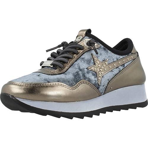 Calzado Deportivo para Mujer, Color Gold, Marca CETTI, Modelo Calzado Deportivo para Mujer CETTI C1114 Gold: Amazon.es: Zapatos y complementos