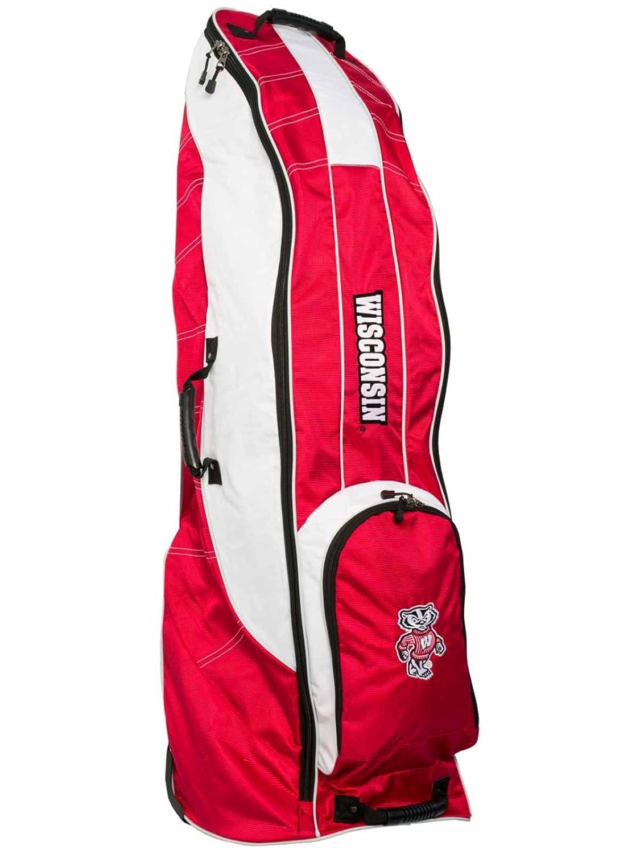 Wisconsin BadgersチームゴルフレッドゴルフクラブWheeled Luggage Travel Bag   B01MTN2Y5U