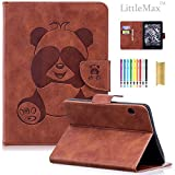 Kindle Voyage 6'' Case, LittleMax(TM) PU Leather Panda Embossed Wallet Case Protective [Magnetic Closure] Cover for Amazon Kindle Voyage (Will only fit Kindle Voyage 2014) -01 Brown