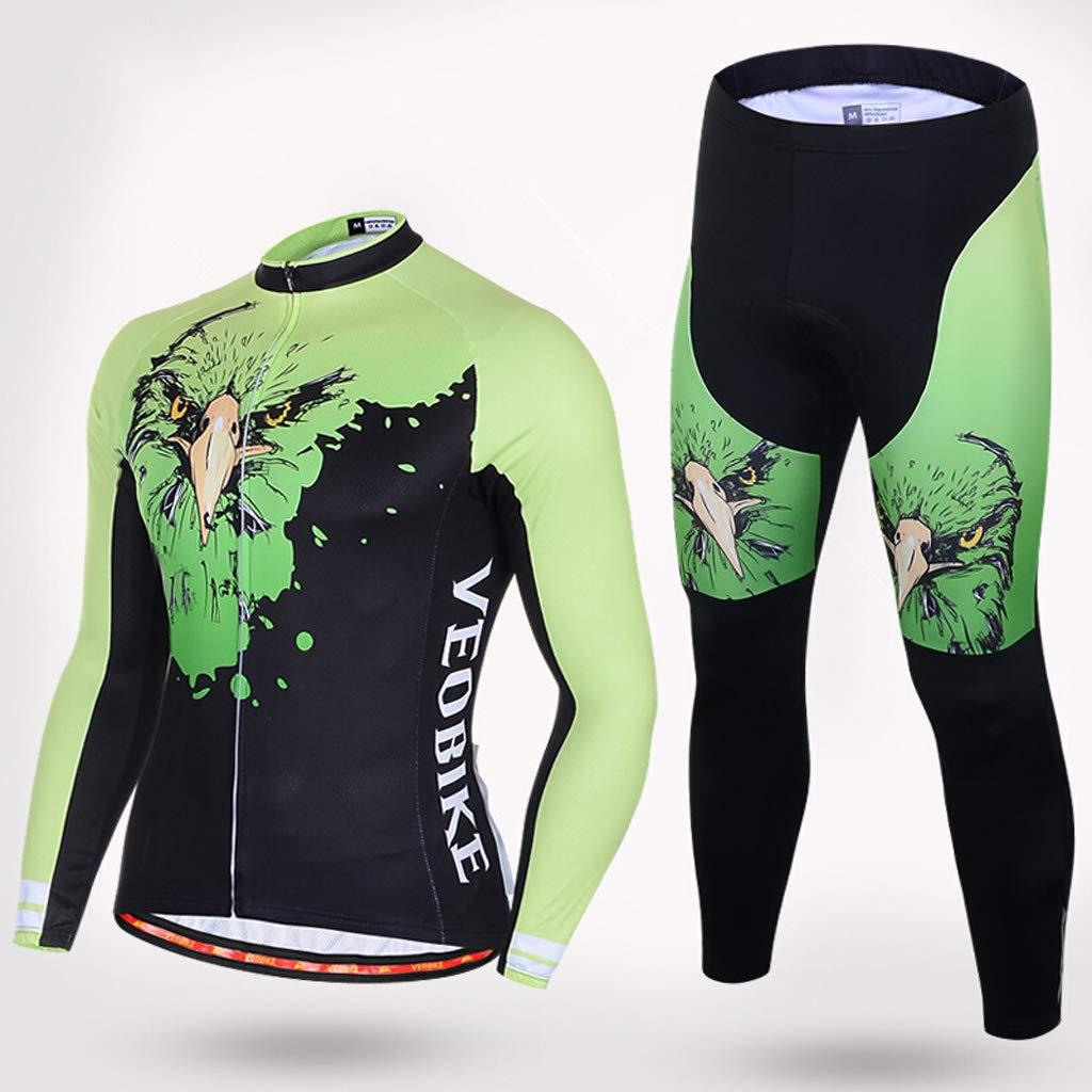 Ldd-qxf Outdoor-Sport-Trikotanzug Frühjahr und Herbst Langarm-Fahrradbekleidung