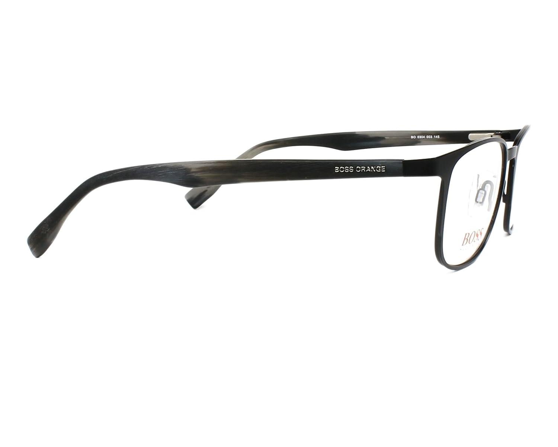 5c4d886cd1 Amazon.com  Hugo Boss frame (BO-0304 003) Metal - Acetate Matt Black -  Marble Grey  Clothing