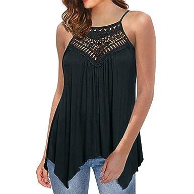 10231457cd Womens Vest,Moonuy, Women Sleeveless Tops,Womens Tops Summer,Ladies Lace  Sexy