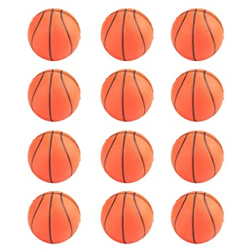 GOGO aprieta bolas de espuma (12 unidades), Deportivo bolas de estrés, Party Favor juguetes, Unisex, Basketball, talla única: Amazon.es: Deportes y aire ...