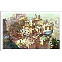 Pintoo Jigsaw Puzzle: Loka Town - 1000 pcs (1000pcs)