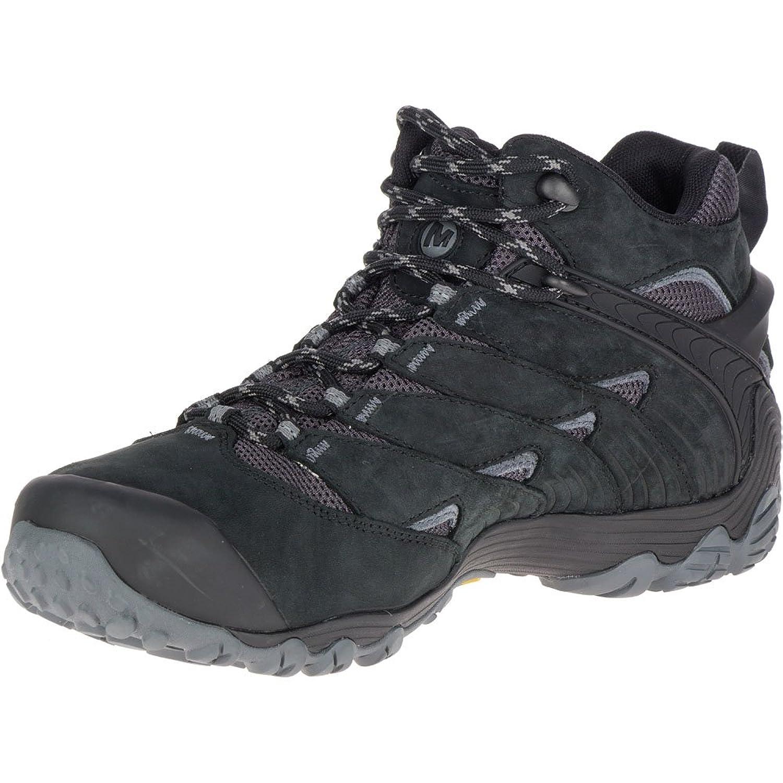 Merrell Chameleon 7 Mid Gore-Tex Scarpe da uomo ,Stivali da Escursionismo J98273 BLACK