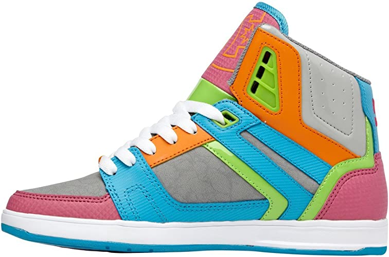 Amazon.com: DC STANCE HI de la mujer Fashion Sneaker: Shoes