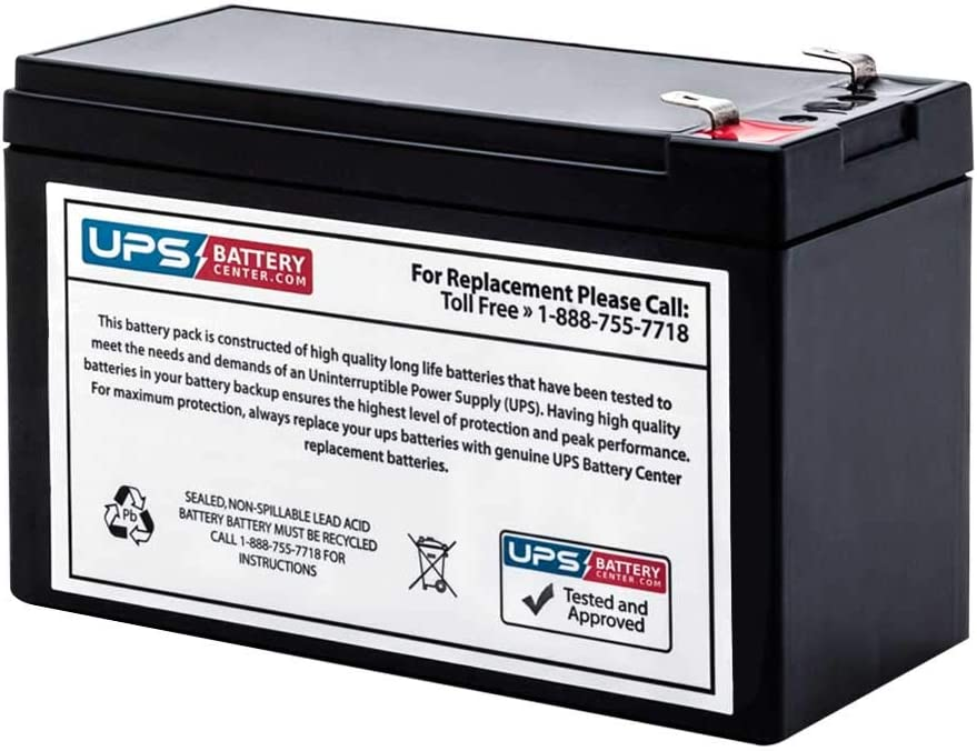 New! UPSBatteryCenter Compatible Battery for APC Back-UPS RS 500 BR500
