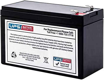 APC Back-UPS ES 650VA BE650BB-CN Compatible Replacement Battery by UPSBatteryCenter