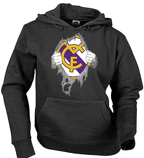 Sudadera Real Madrid en el Corazón Camisetas del Real Madrid Merengues: Amazon.es: Ropa y accesorios