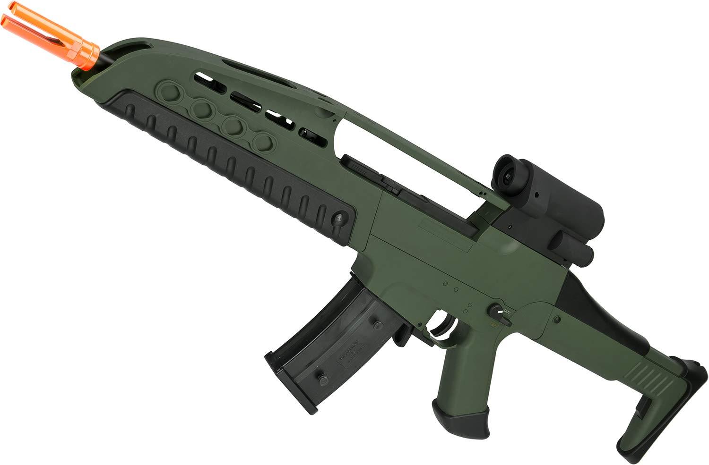 Amazon com : Evike SRC SM8 Airsoft AEG Rifle w/Two Hi-Cap Mags