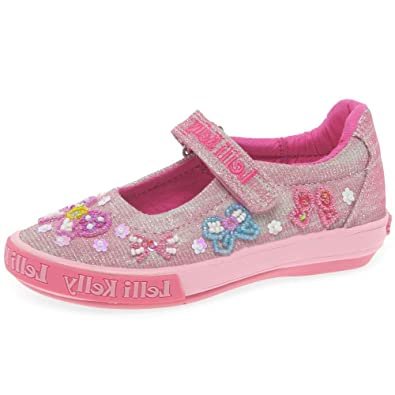 06e44c6499 Lelli Kelly Shining Bow Dolly Girls Canvas Shoes 8.5/26 Std Unless Stated  in Colour