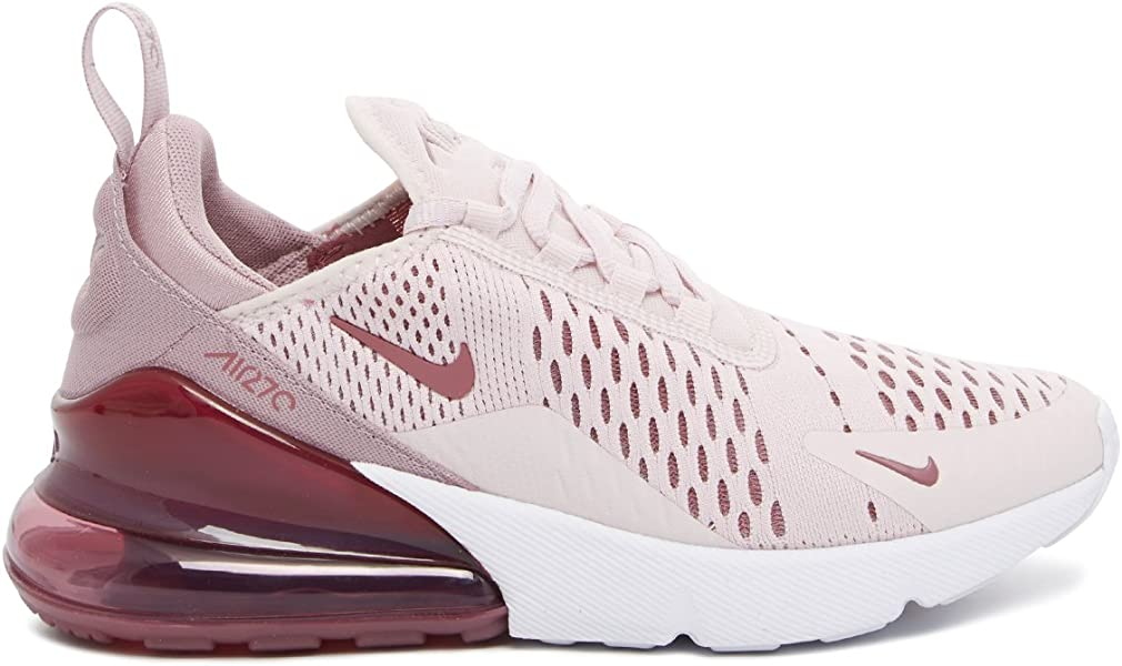 4cee506024 Amazon.com | NIKE Women's Air Max 270 Barely Rose AH6789-601 (Size: 6) |  Running