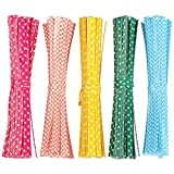 Pengxiaomei 500 Pcs Metallic Twist Ties, Colorful Bag Ties for Cellophane Party Bag