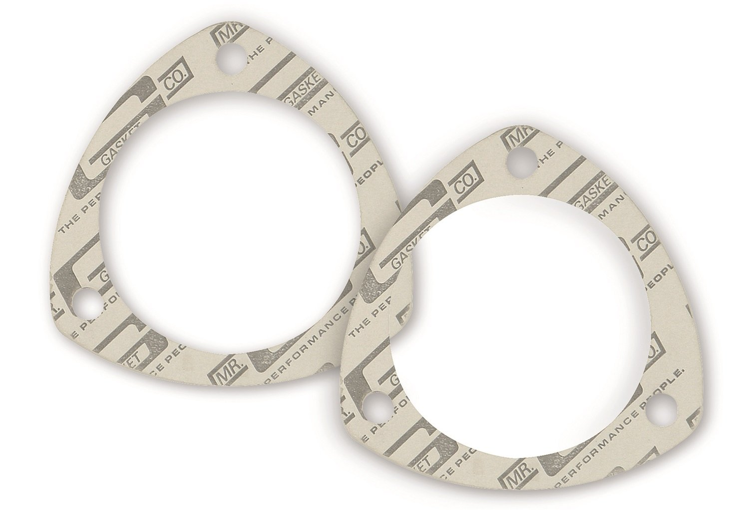 Mr. Gasket 1203C High Performance Triangle Collector Gasket-Two Per Set