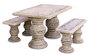mesas de piedra de exterior ibiza cm x x h completo de nr