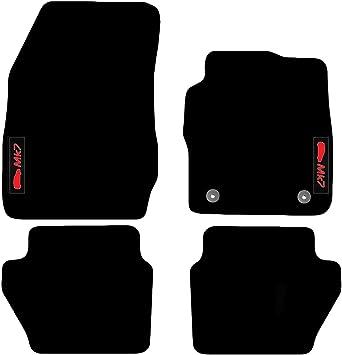 SEAT IBIZA 08 ON 4 PIECE BLACK CAR FLOOR MAT SET