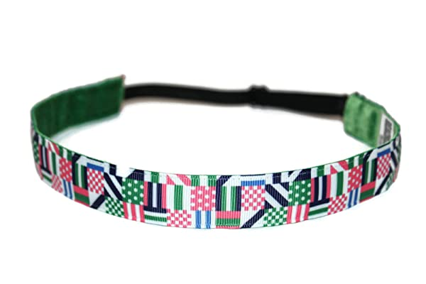 BEACHGIRL Bands Headband Non-Slip Sport Hairband For Women & Girls Nautical Flags