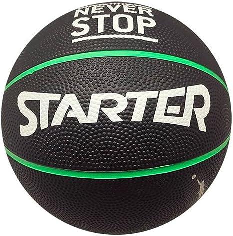 Starter 45ST0702.A60 Balón de Baloncesto, Negro, S: Amazon.es ...