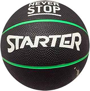 Starter 45st0702.a60Ballon de basket-ball, noir, S