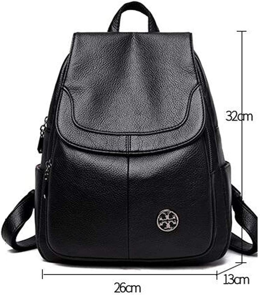 Chenjinxiang01 Mini Leather Backpack Stylish Small Wallet for Girls and Women,red Color : Black