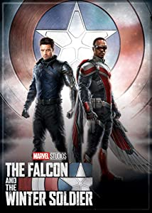 Ata-Boy Marvel Falcon and Winter Soldier Poster #2 2.5