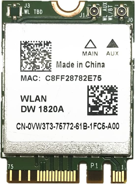 Amazoncom REDLIAN BCM94350ZAE DW1820A 8PKF4 80211AC 867Mbps NGFF  Bluetooth 41 Wireless Card For BCM94350Z Dell DW1820A WLAN CARD Computers   Accessories