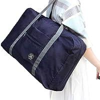 防水可折叠旅行包 购物单肩包男女加大整理袋行李包大容量登机包防水套拉杆箱收纳袋 混色发