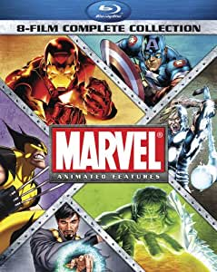 amazoncom marvel animated features 8film complete