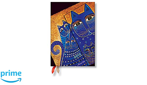 Paperblanks Agenda 2019 con marcapáginas. & Bolsillo Interior | Gatos del Mediterráneo | Semana para Semana (Vertical) | Mini (140 x 100 mm): Amazon.es: ...