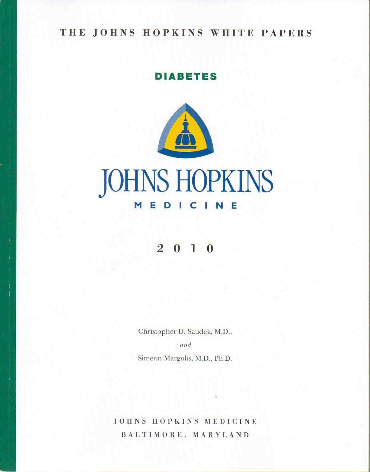 Download The Johns Hopkins White Papers: Diabetes PDF