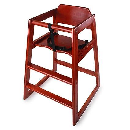 Bebé de madera maciza silla comedor sillas de comedor para niños ...