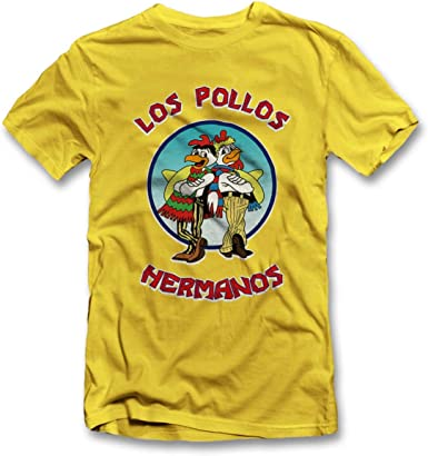 shirtground Los Pollos Hermanos Camiseta S-XXL 12 Colores/Colours: Amazon.es: Ropa y accesorios