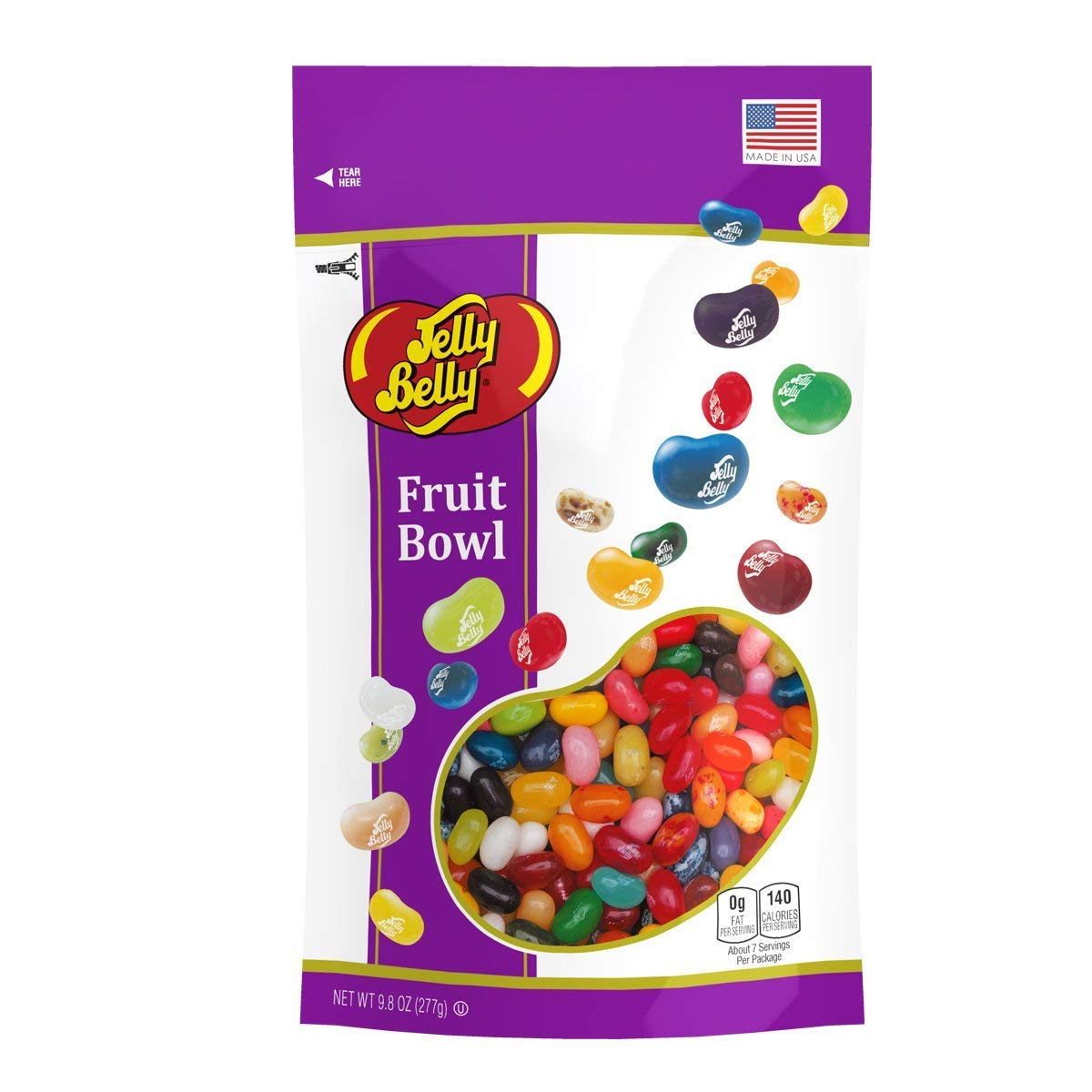 Jelly Belly Fruit Bowl Jelly Beans, Assorted Fruit