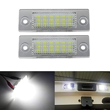 *VW CADDY NUMBER PLATE LED 100/% ERROR FREE BRIGHT WHITE 18 SUPER LED/'S CANBUS
