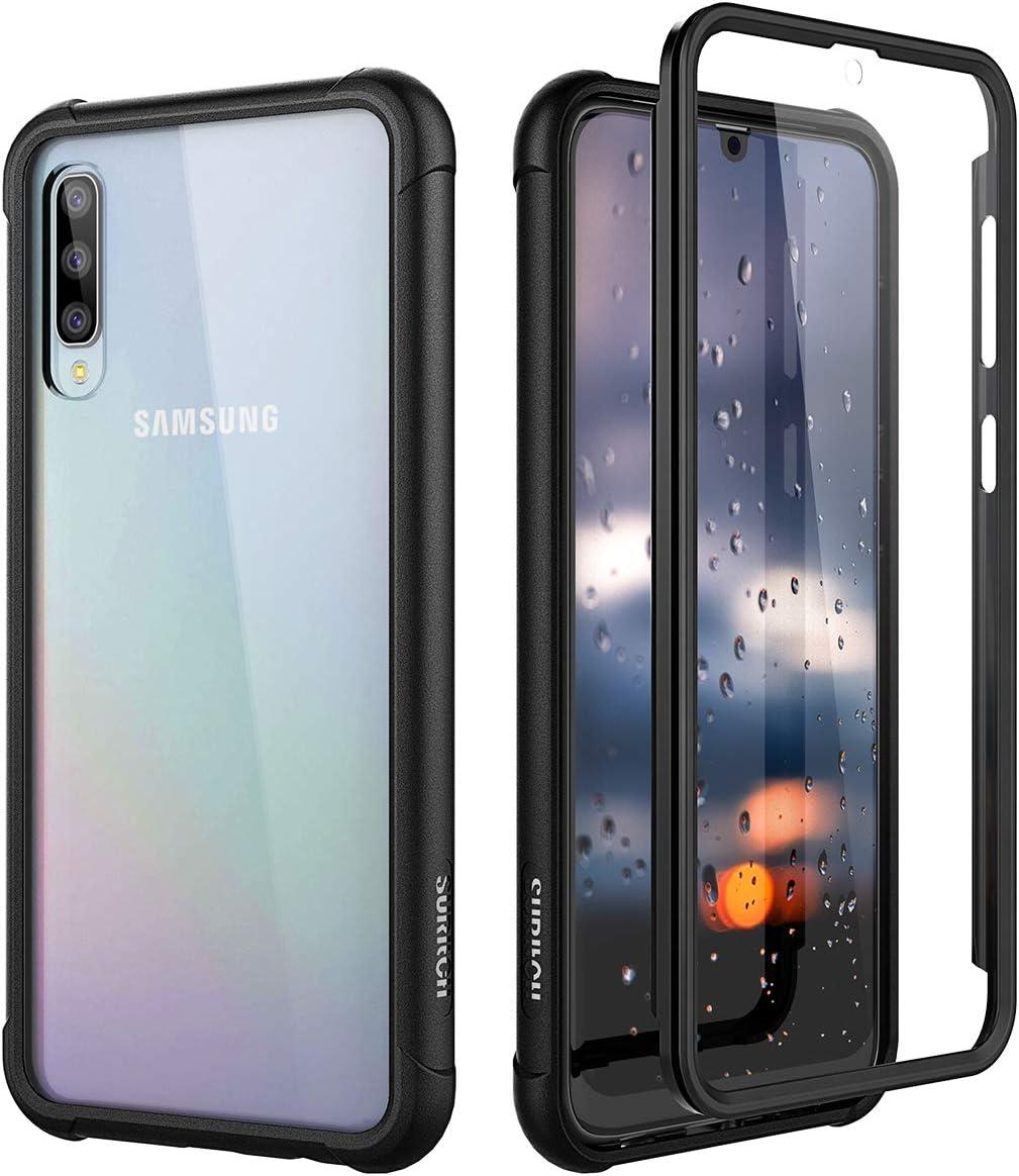 SURITCH Funda Samsung Galaxy A50 360 Grados Transparente y ...