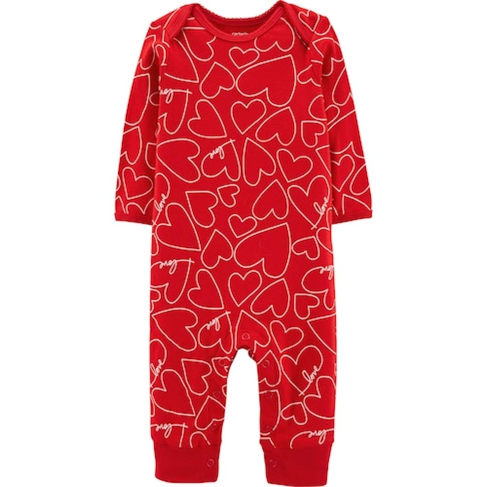 Carters Unisex Baby Valentines Day Jumpsuit