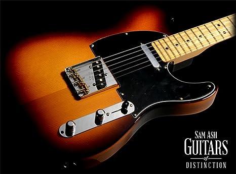 Fender Special Edition abeto/fresno Telecaster guitarra eléctrica (Sienna amarillo oscuro, ráfaga,