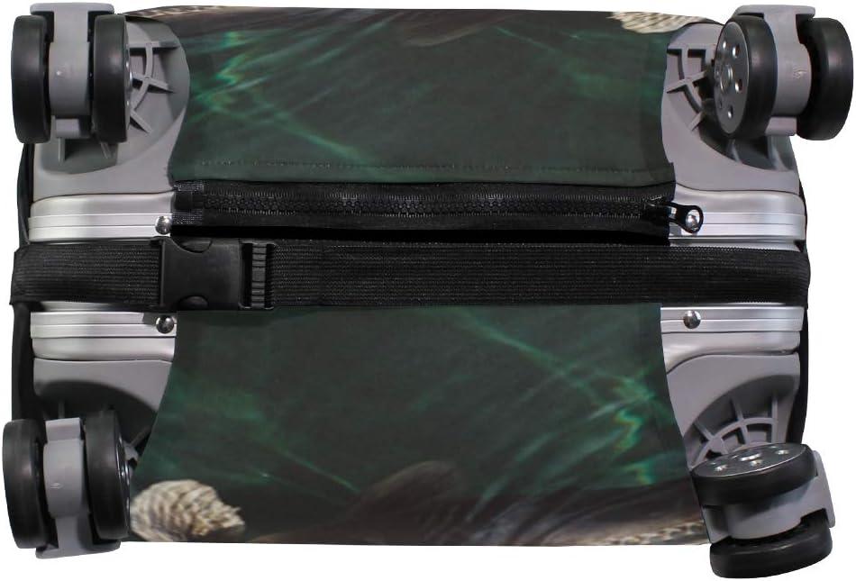 MALPLENA Animal Fish Carp Koi Luggage Protector Suitcase Cover