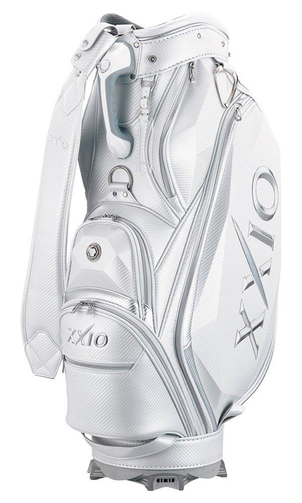 DUNLOP(ダンロップ) キャディーバッグ XXIO キャディバッグセット (キャディバッグ+ヘッドカバー4個) メンズ GGC-X100L ホワイト B077X7GVXR