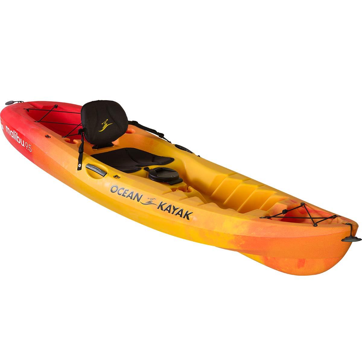 Ocean Kayak Malibu 9.5 Kayak (Sunrise, 9 Feet 5 Inches) by Ocean Kayak