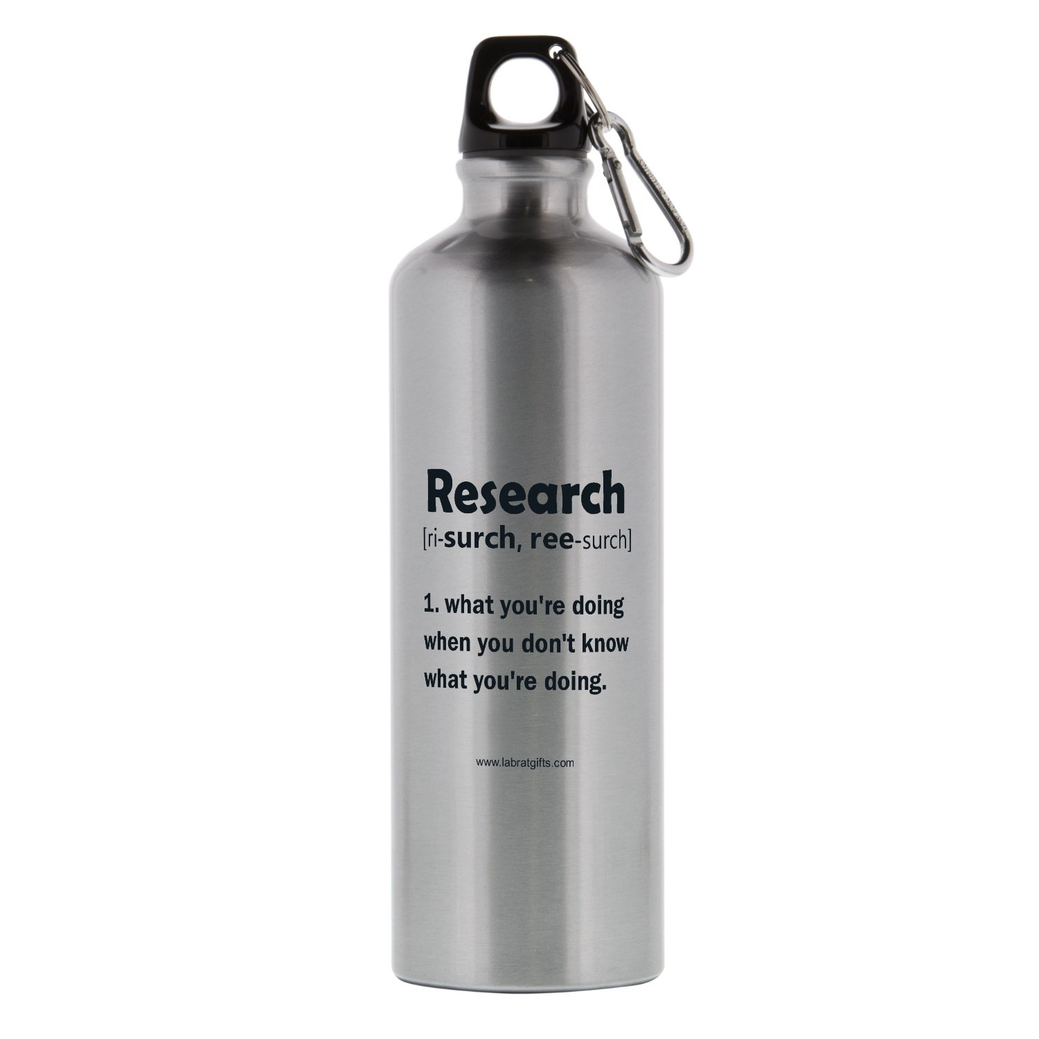 26 oz Lab Rats Gifts WB006 Funny Science Themed Aluminum Research Sports Bottle