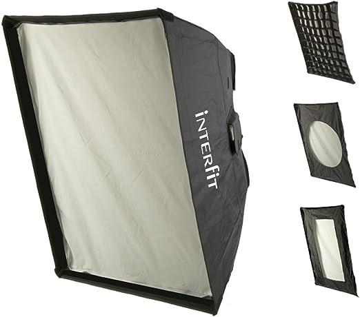 Interfit Softbox - Caja de luz para Estudio fotográfico, Negro ...