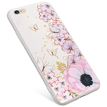 Uposao Funda iPhone 6 Plus,Funda iPhone 6S Plus Scrub ...