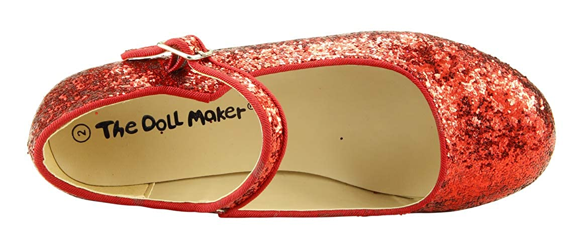The Doll Maker Girls Chunky Glitter Flat